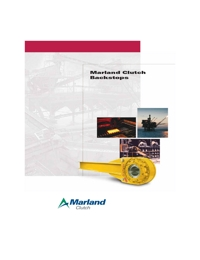 WARNER Brakes & Clutches Marland Backstops Series Catalogue